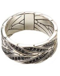 John Hardy - Diamond Spinel Silver Ring - Lyst