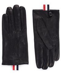 Thom Browne | Sheepskin Leather Gloves | Lyst