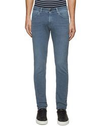 PT Torino Swing' Washed Stretch Skinny Jeans Men Clothing Jeans Swing' Washed Stretch Skinny Jeans - Blue