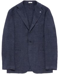 Eidos | Linen Soft Blazer | Lyst