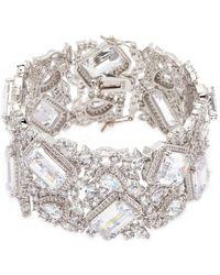 CZ by Kenneth Jay Lane - Cubic Zirconia Openwork Bracelet - Lyst