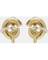 Ellery - 'fraternity Stacked' Twisted Stud Earrings - Lyst