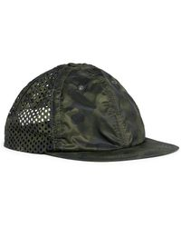 Satisfy Perforated Camouflage Baseball Cap - Green