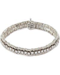 Philippe Audibert 'new Broome' Swarovski Crystal Bracelet - Metallic