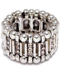 Philippe Audibert - 'ava' Mini Swarovski Crystal Bead Elastic Ring - Lyst