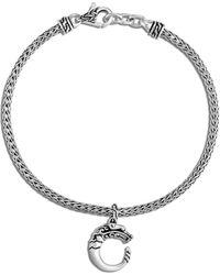John Hardy Legends Naga' Silver Charm Bracelet - Metallic