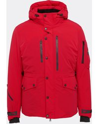 Trickcoo Hooded down unisex jacket - Rojo