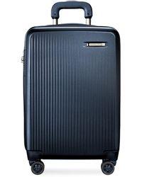 Briggs & Riley Sympatico 4-wheel Expandable Medium Suitcase - Blue