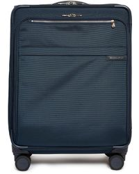 Briggs & Riley - Baseline Medium Expandable Spinner Suitcase – Navy - Lyst