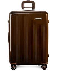 Briggs & Riley - Sympatico Medium Expandable Spinner Suitcase – Bronze - Lyst