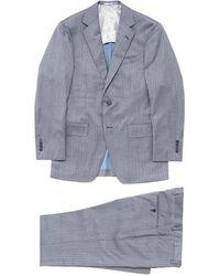 Tomorrowland - Wool-silk Herringbone Suit - Lyst