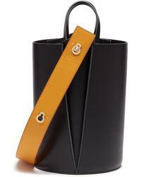 Danse Lente - 'lorna' Keyhole Strap Mini Colourblock Bucket Bag - Lyst