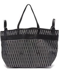 AU DEPART - 'bercy' Reversible Shopping Tote Bag - Lyst
