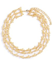 Kenneth Jay Lane - Tiered Branch Necklace - Lyst