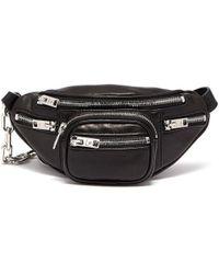 Alexander Wang Nappa Attica Mini Belt/cross Body Bag - Black