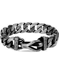 John Hardy Men's Asli Classic Chain Curb-link Bracelet - Metallic