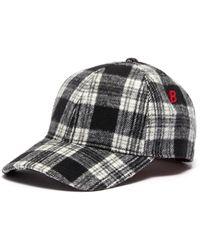 My Bob Tartan Plaid Baseball Cap - Multicolor