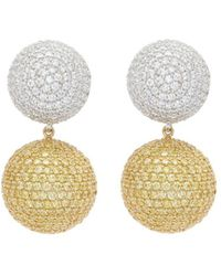 Anabela Chan - 'bauble' Diamond Sapphire Detachable Drop Earrings - Lyst