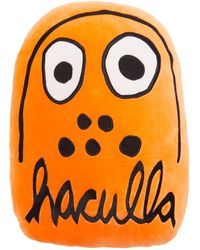 Haculla Embroidered Pillow - Orange