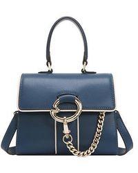 Lapalette Cannes Rosee Micro Mini Satchel Bag - Blue