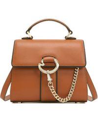 Lapalette Cannes Rosee Mini Satchel Bag - Brown