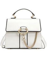 Lapalette Cannes Rosee Mini Satchel Bag - White