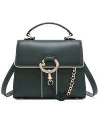 Lapalette Cannes Rosee Mini Satchel Bag - Green