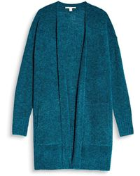 Esprit - Long-sleeved Open Cardigan - Lyst