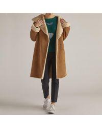 Rene' Derhy - Long Faux Fur Coat - Lyst
