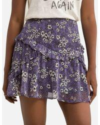 IKKS Minifalda con estampado floral - Multicolor