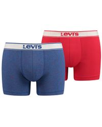 Levi's - Pack Of 2 Marl Hipsters - Lyst