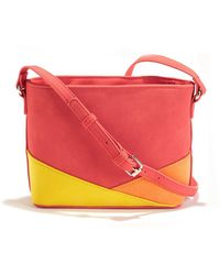 La Redoute - Three-colour Handbag - Lyst