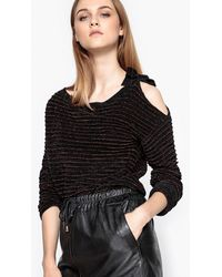 La Redoute - Jumper/sweater With Shimmering Stripes - Lyst