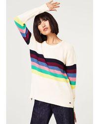 Esprit - Multi-coloured Striped Jumper/sweater - Lyst