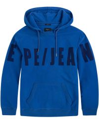 Pepe Jeans - Corpid Hoodie With Print On Front - Lyst
