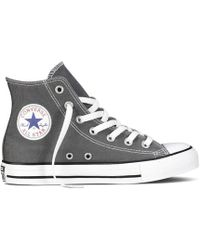 Converse Zapatillas de caña Chuck Taylor All Star Hi Canvas - Gris