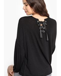 La Redoute - T-shirt With Eyelets On The Back - Lyst