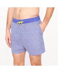 La Redoute - Printed Swim Shorts - Lyst