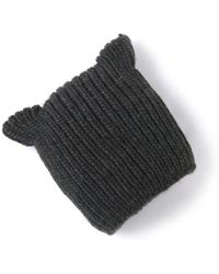 La Redoute - Knitted Hat With Ears - Lyst