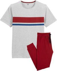 La Redoute Pijama de manga corta - Blanco