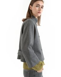 Gat Rimon - Figue 3/4-length Sleeve Cropped Coat - Lyst
