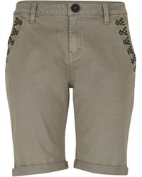 B.Young - Roll-up Bermuda Shorts - Lyst
