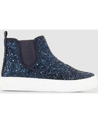 La Redoute - Sparkly Chelsea Boot Style Trainers - Lyst