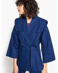 La Redoute - 80s Padded Sleeve Kimono - Lyst