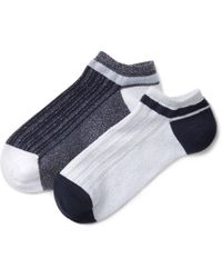 La Redoute - Pack Of 2 Pairs Of Ankle Socks - Lyst
