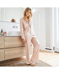 La Redoute Pijama de satén - Rosa