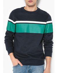La Redoute - Crew Neck Block Stripe Sweatshirt - Lyst