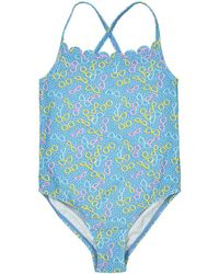 La Redoute - Printed Swimsuit, 3-12 Years - Lyst