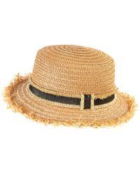 La Redoute - Straw Hat - Lyst