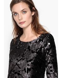 La Redoute - Sequinned Bodycon Dress With Low Back - Lyst